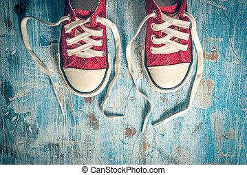 par, sneakers