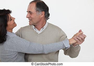 par velho, dançar