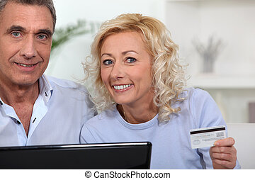 para, żonaty, shopping na-linie