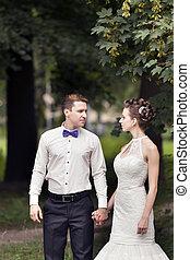 para, żonaty, właśnie