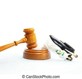 para, concept), (divorce, plastyk, prawny, ślub, gavel