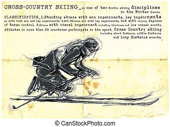 Para Cross-Country Skiing. Para Sport and Movement. An hand...