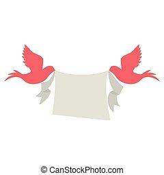 para, gołębica, ptaszki
