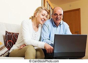para, komputer, dojrzały
