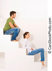 para, kroki, posiedzenie