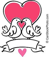 para, lovebirds