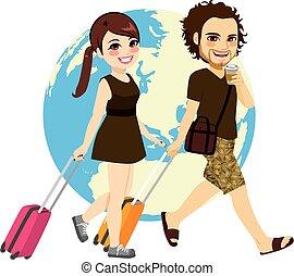 para, podróżowanie