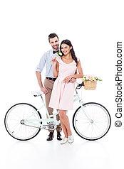 para, rower, młody