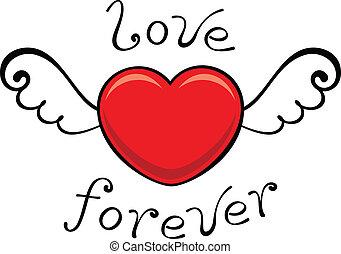 para sempre, amor