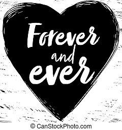 para sempre, já