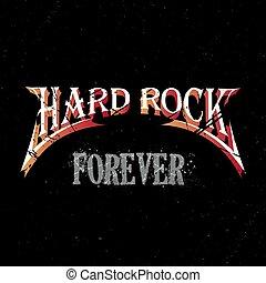 para sempre, pedra dura