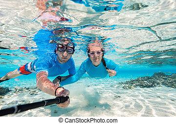 para, snorkeling