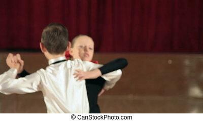 para, tango, taniec