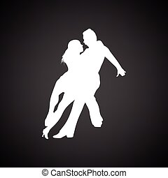 para, taniec, ikona