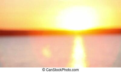 para zachód słońca