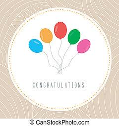parabéns, card1