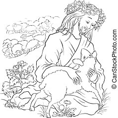 Parable of the lost sheep outlined