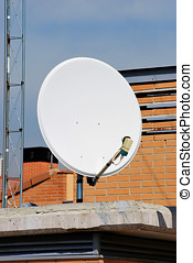 Parabolic 3 - Parabolic antenna. Equipment for receiving...