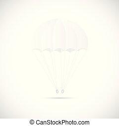 Parachute Illustration - Illustration of a parachute...