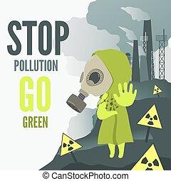 parada, ambiental, contaminación
