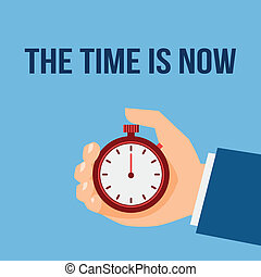 parada, dirección, reloj, tiempo, cartel