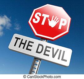 parada, el diablo