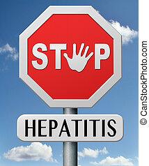 parada, hepatitis