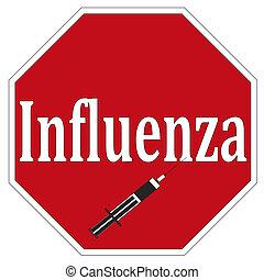 parada, influenza
