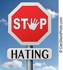 parada, odiar
