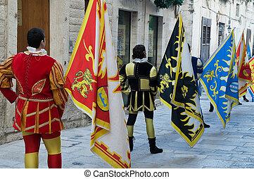 parade., historische