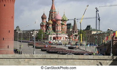 parade militaire, russie, moscou