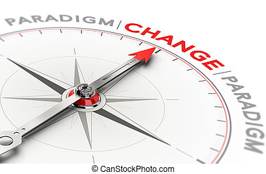 Paradigm shift, disruptive change in technology or science...