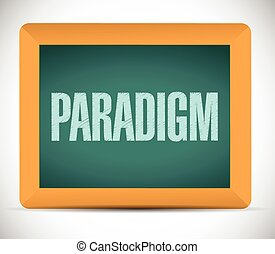 paradigm sign illustration design