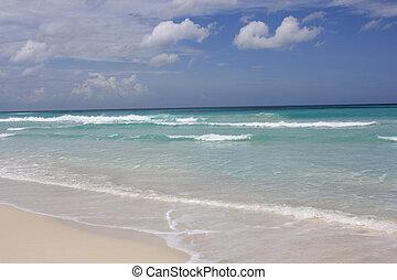 paradijs, cuba, strand