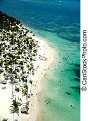 Paradise beach in caribbean