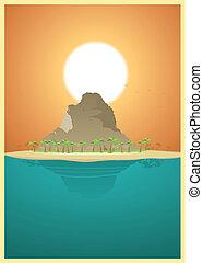 Paradise Desert Island