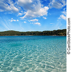 Paradise of Lake McKenzie, Fraser Island - Australia.