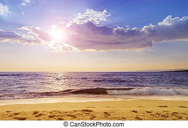 Paradisos beach in Greece