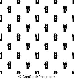 Paraffin candle pattern vector - Paraffin candle pattern...
