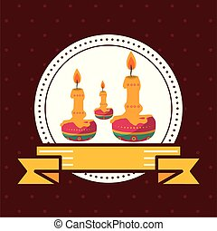 paraffin candles seal stamp icon vector illustration design