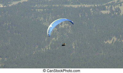 Paraglider 02 - Paragliding high above the Columbia Valley...