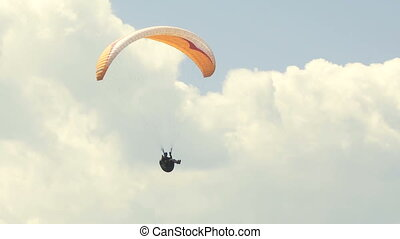 Paraglider 08 - Paragliding high above the Columbia Valley...