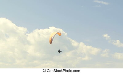 Paraglider 09 - Paragliding high above the Columbia Valley...