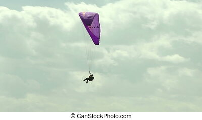 Paraglider 13 - Paragliding high above the Columbia Valley...