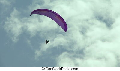 Paraglider 14 - Paragliding high above the Columbia Valley...