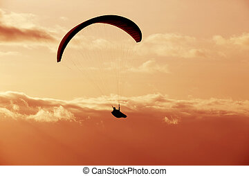 Paragliding Cross-country Portuguese League, in the north of...