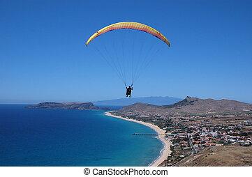 Paragliding in Porto Santo Island