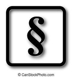 paragraaf, pictogram