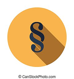 Paragraph symbol icon