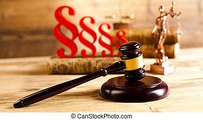 paragraphe, thème, droit & loi